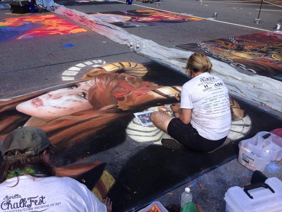 What is a Chalk Festival?