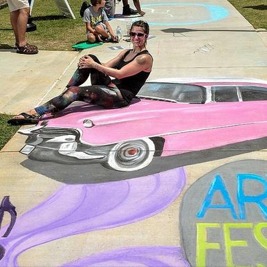 3D Chalk Art Link