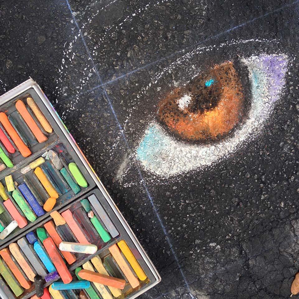 Katie Bush Chalk Eye