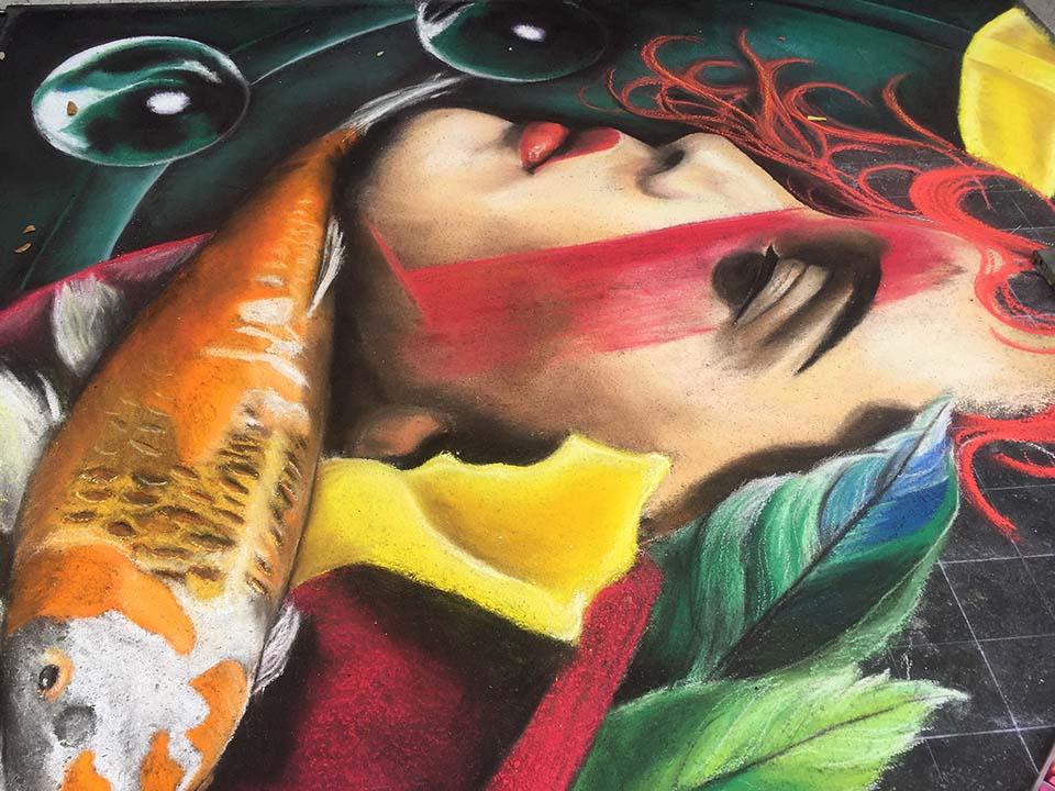 Lake Worth Street Painting Festival 2016