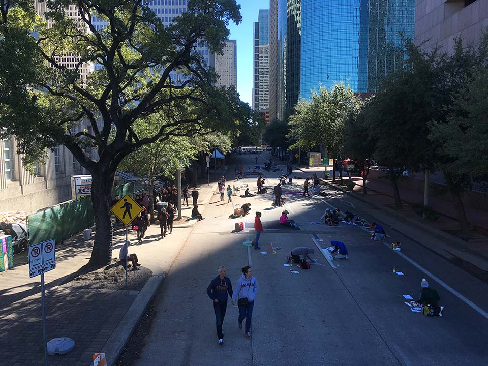 Start of Houston Via Colori 2016