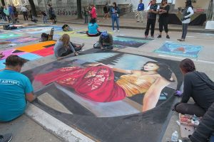 Jennifer Ripassa Chalk Art