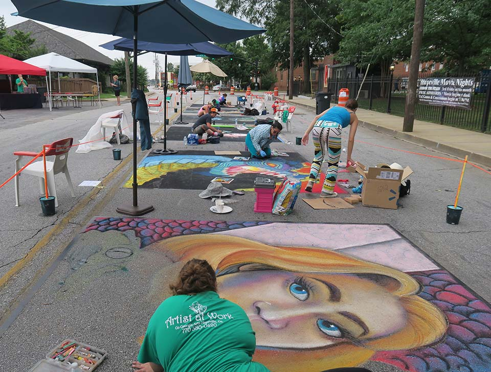 A crash course for anyone wanting to start a chalk festival