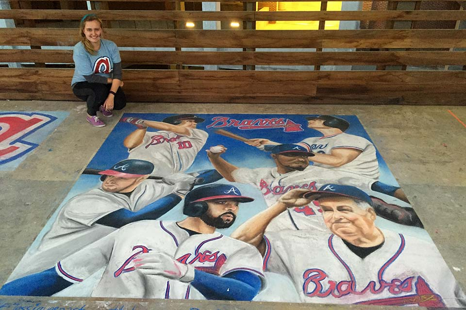 Braves Team Players by Jessi Queen