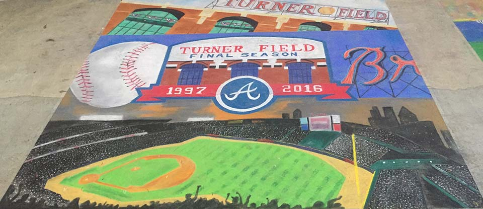 Turner Field by Katie Bush