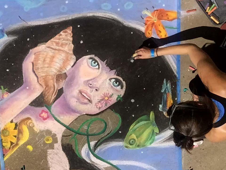 Dogwood Arts Chalk Walk
