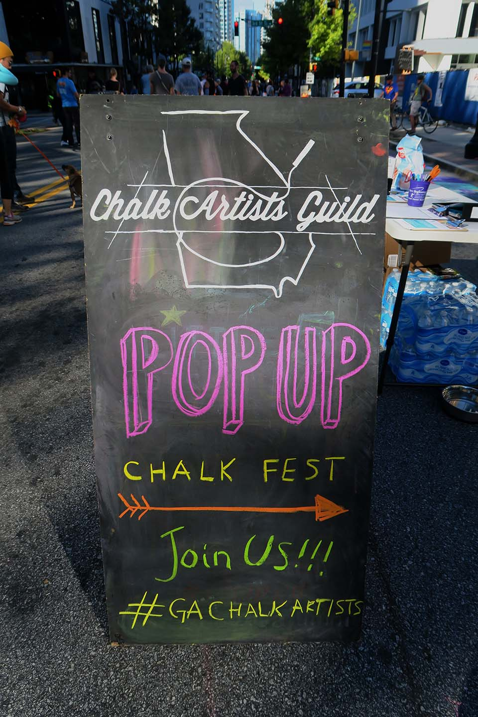 Join Us at Pop Up Chalk Fest