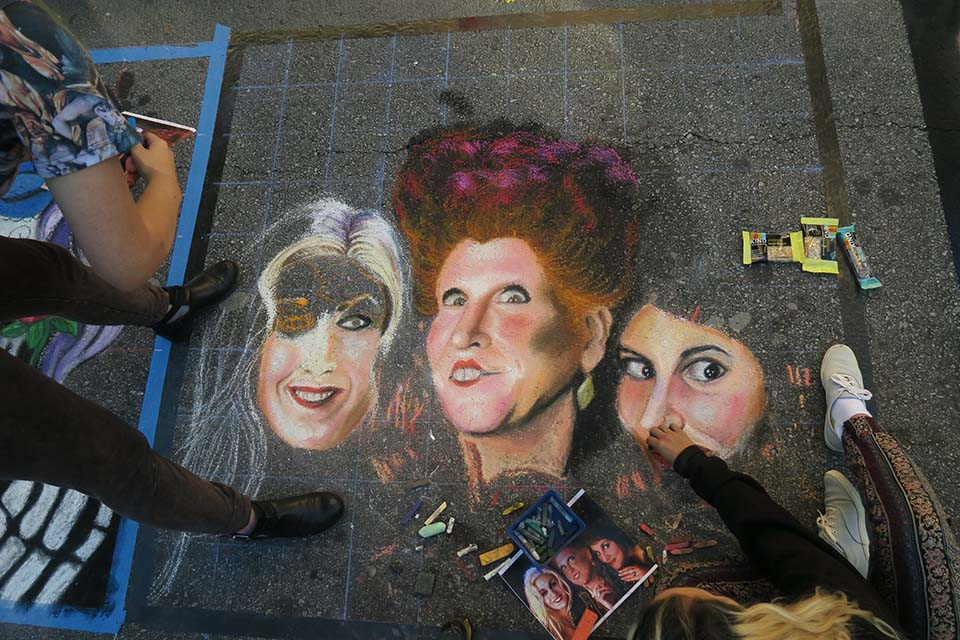 Cathryn Bozone Chalk Progress