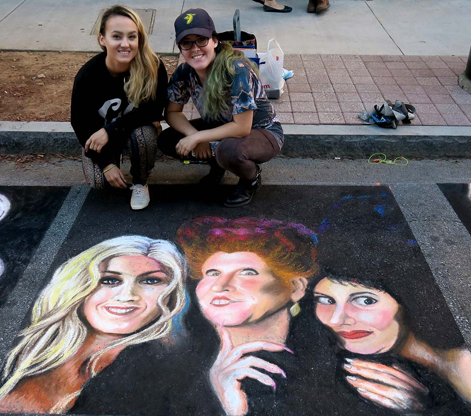 Cathryn Bozone Chalk Art