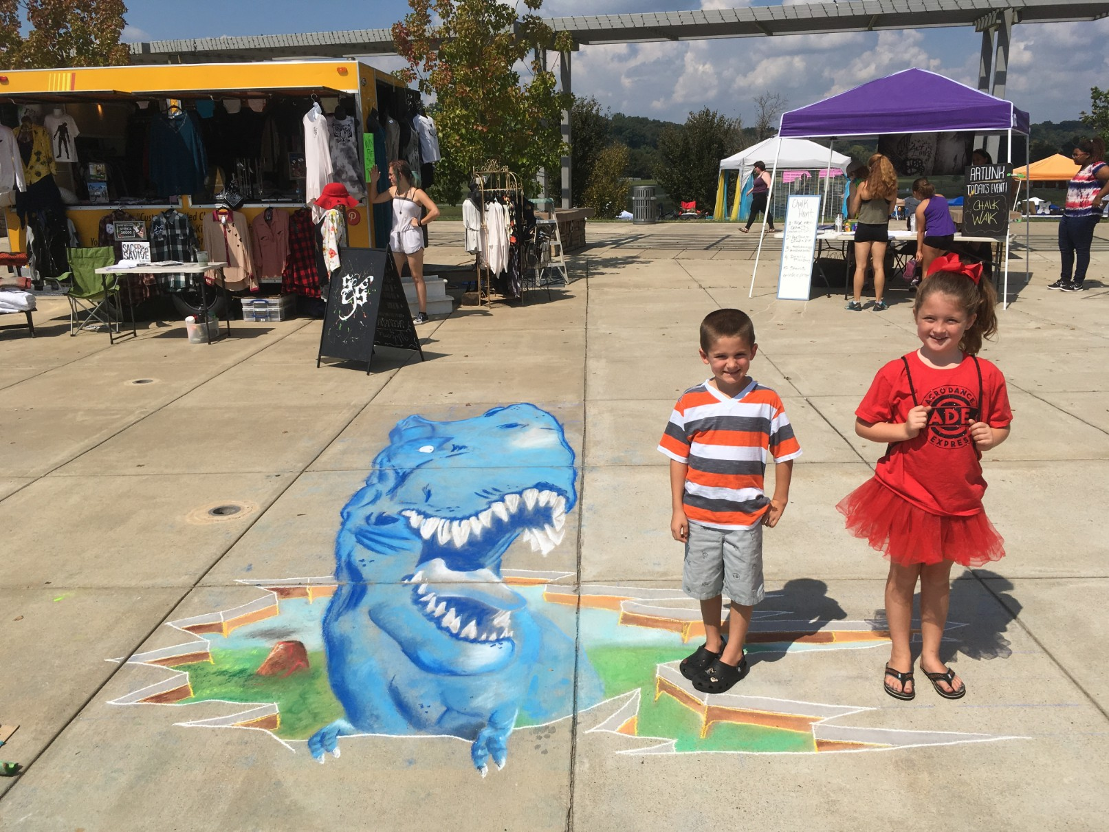 Clarksville Chalk Walk 2017 (23)
