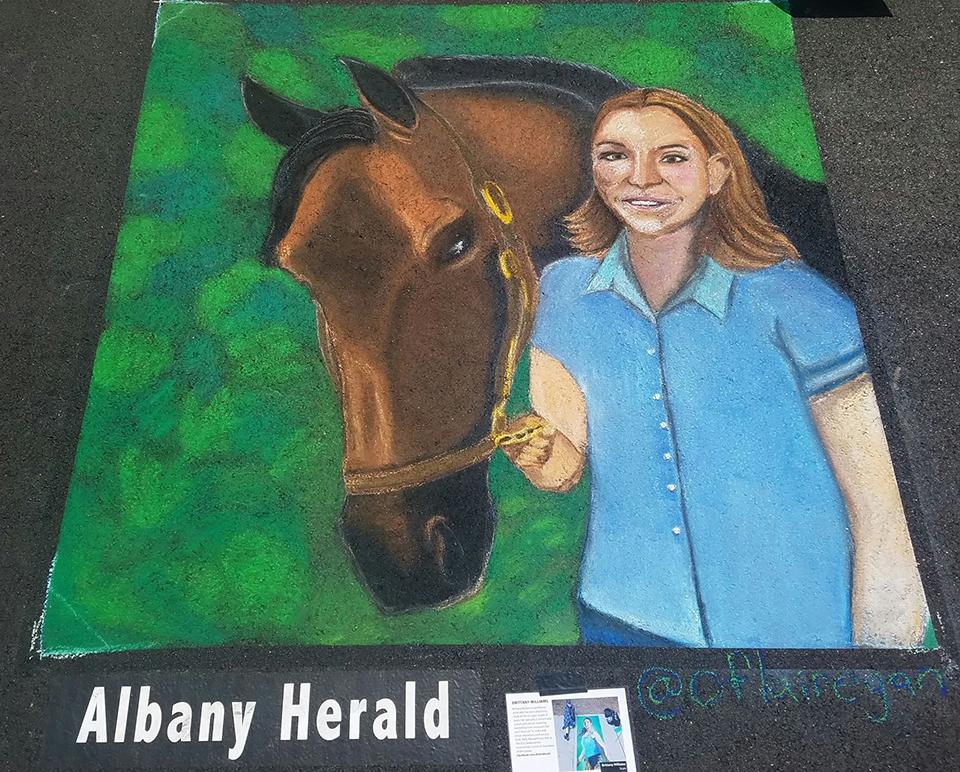 Brittany-Williams-Albany-Chalk
