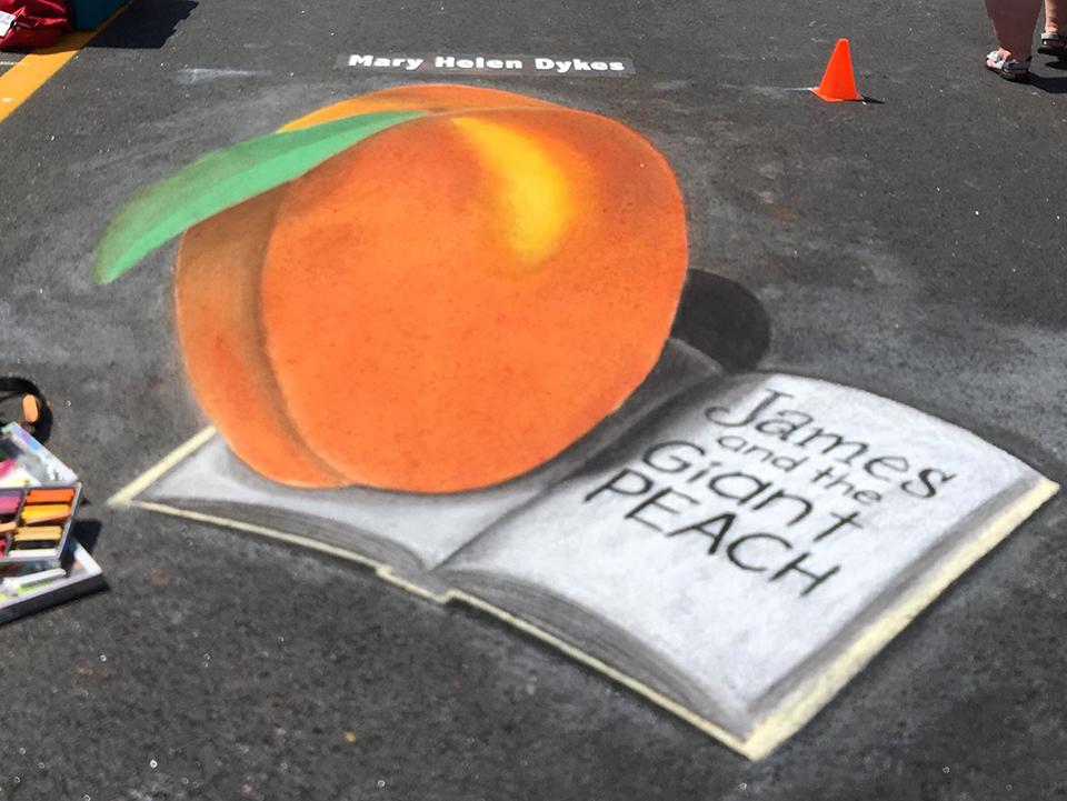 James-Wheeler-Peach-Chalk-Art