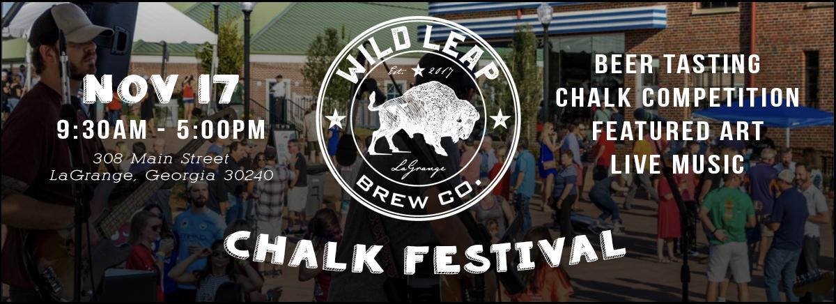 Wild Leap Chalk Art Festival 2018