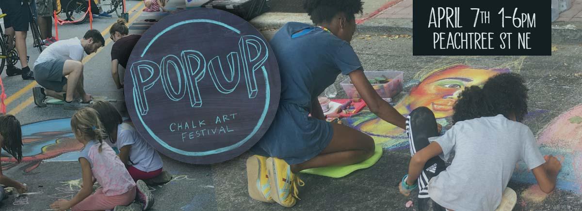 Pop Up Chalk Art Festival April 2019